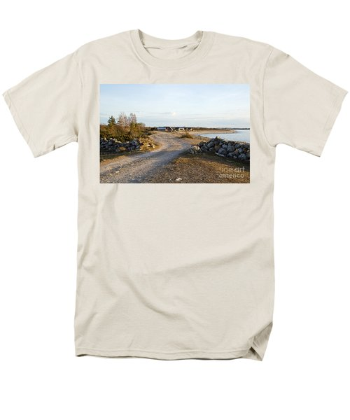 Along The Coast Men's T-Shirt  (Regular Fit) by Kennerth and Birgitta Kullman