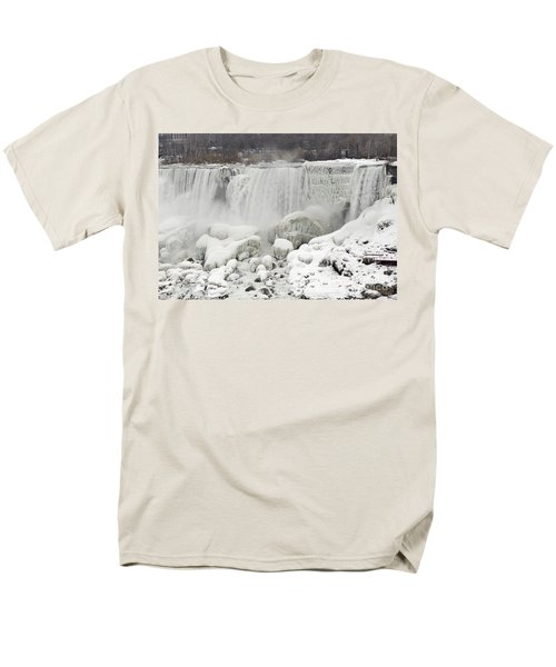 American Falls Men's T-Shirt  (Regular Fit) by JT Lewis