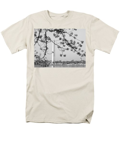 Men's T-Shirt  (Regular Fit) featuring the photograph Amongst The Cherry Blossoms by Emmy Marie Vickers