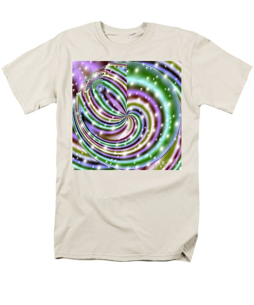 Men's T-Shirt  (Regular Fit) featuring the digital art And He Called Them Stars by Luther Fine Art
