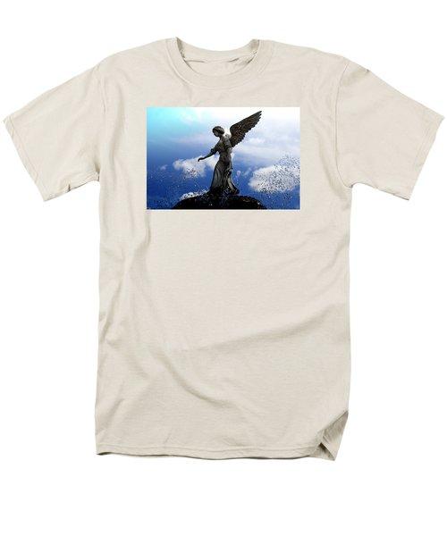 Angel's Love Men's T-Shirt  (Regular Fit) by Milena Ilieva