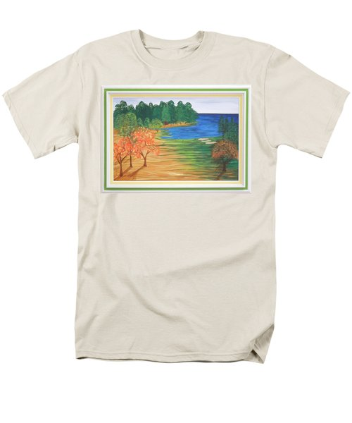 Another Sunday Morning Men's T-Shirt  (Regular Fit) by Ron Davidson
