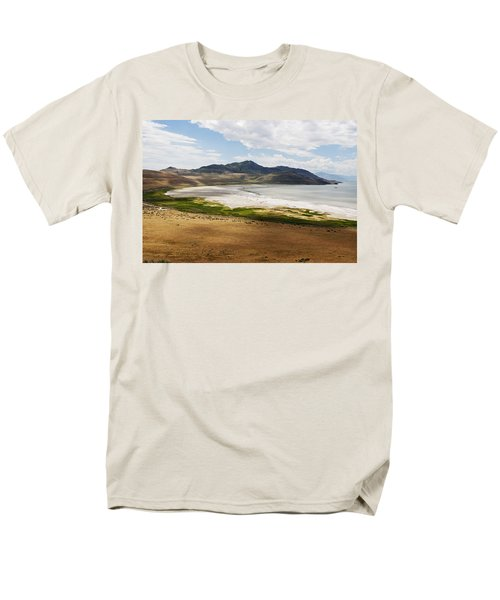 Men's T-Shirt  (Regular Fit) featuring the photograph Antelope Island by Belinda Greb