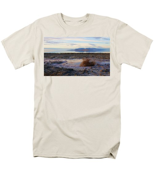 Men's T-Shirt  (Regular Fit) featuring the photograph Antelope Island - Tumble Weed by Ely Arsha