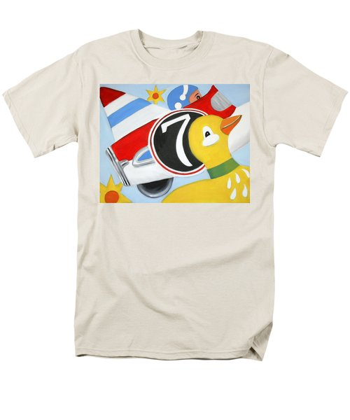 Men's T-Shirt  (Regular Fit) featuring the painting Antique Toys by Stacy C Bottoms