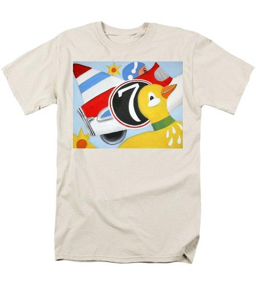 Antique Toys Men's T-Shirt  (Regular Fit) by Stacy C Bottoms