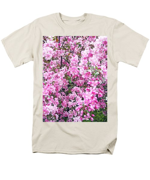 Apple Blossoms Men's T-Shirt  (Regular Fit) by Aimee L Maher Photography and Art Visit ALMGallerydotcom