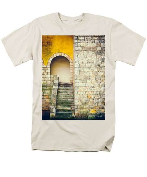 Men's T-Shirt  (Regular Fit) featuring the photograph Arched Entrance by Silvia Ganora