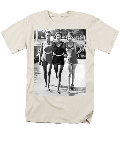 Army Bathing Suit Trio Men's T-Shirt  (Regular Fit) by Underwood Archives