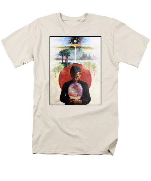 Arthur Ashe Men's T-Shirt  (Regular Fit) by John Lautermilch