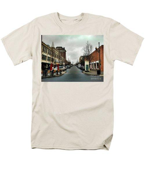Asheville North Carolina Men's T-Shirt  (Regular Fit) by Janice Spivey