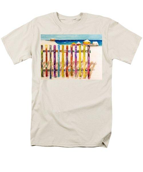 At The Beach Men's T-Shirt  (Regular Fit) by Frances Marino