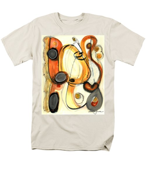 Men's T-Shirt  (Regular Fit) featuring the painting Autumn Winds by Stephen Lucas