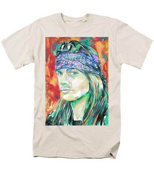 Axl Rose Portrait.2 Men's T-Shirt  (Regular Fit)