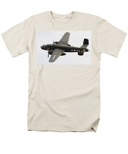B-25 Mitchell Bomber Aircraft Men's T-Shirt  (Regular Fit) by Kevin McCarthy