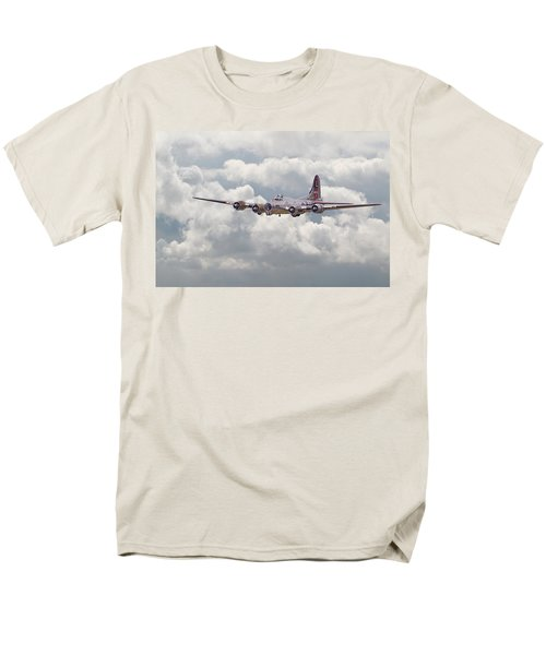 B17- Yankee Lady Men's T-Shirt  (Regular Fit) by Pat Speirs