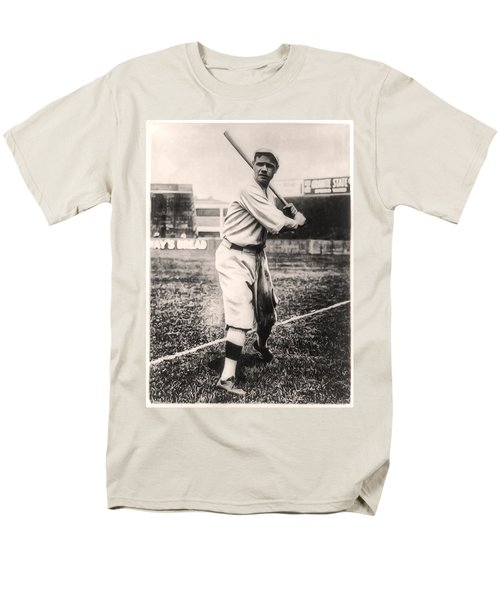 Babe Ruth Men's T-Shirt  (Regular Fit) by Bill Cannon