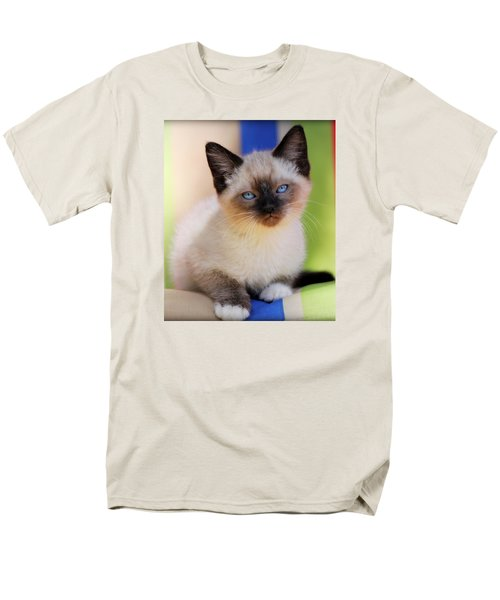 Men's T-Shirt  (Regular Fit) featuring the photograph Baby Blues by Melanie Lankford Photography