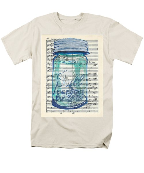 Men's T-Shirt  (Regular Fit) featuring the painting Ball Jar Classical  #132 by Ecinja Art Works