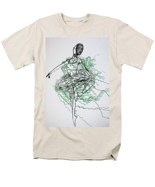Ballet Men's T-Shirt  (Regular Fit) by Gloria Ssali