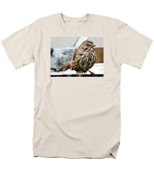 Men's T-Shirt  (Regular Fit) featuring the photograph Bathe Then Fluff by VLee Watson