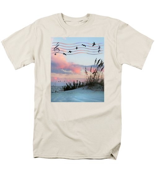 Beach Music Men's T-Shirt  (Regular Fit) by Deborah Smith
