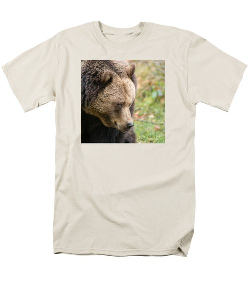 Bear's Profile Men's T-Shirt  (Regular Fit) by Simona Ghidini