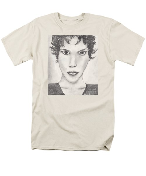 Men's T-Shirt  (Regular Fit) featuring the drawing Beau by David Jackson