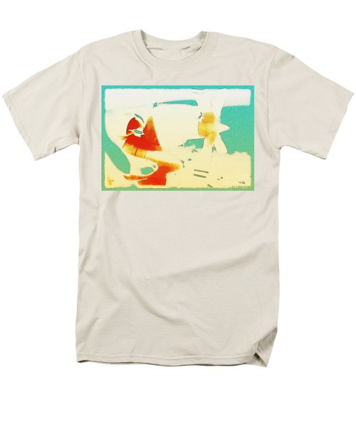 Men's T-Shirt  (Regular Fit) featuring the photograph Fixed Wing Aircraft Poster by R Muirhead Art