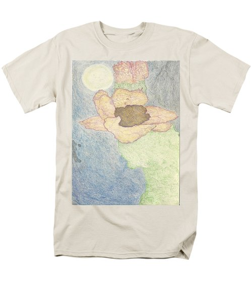 Men's T-Shirt  (Regular Fit) featuring the drawing Between Dreams by Kim Pate