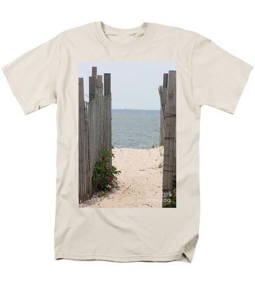 Beyond The Dunes Men's T-Shirt  (Regular Fit) by Barbara Bardzik