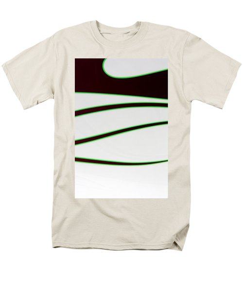 Men's T-Shirt  (Regular Fit) featuring the photograph Black And Green by Joe Kozlowski