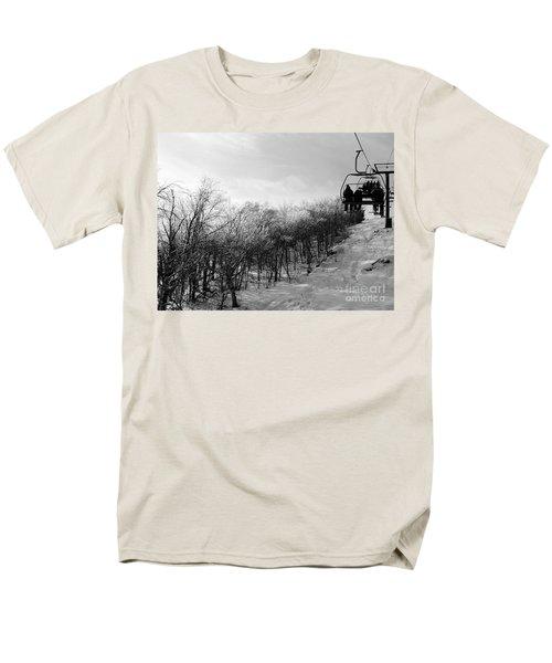 Black Ice Men's T-Shirt  (Regular Fit) by Barbara Bardzik