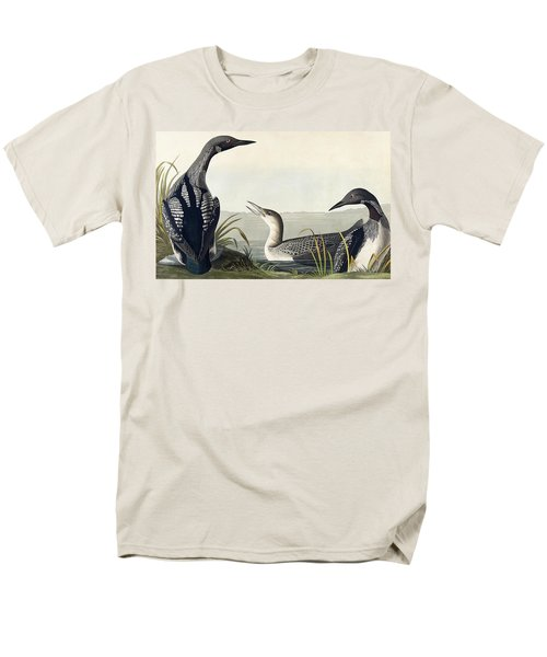 Black Throated Diver  Men's T-Shirt  (Regular Fit) by John James Audubon