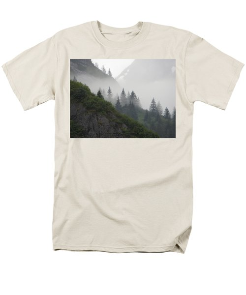 Men's T-Shirt  (Regular Fit) featuring the photograph Blanket Of Fog by Jennifer Wheatley Wolf