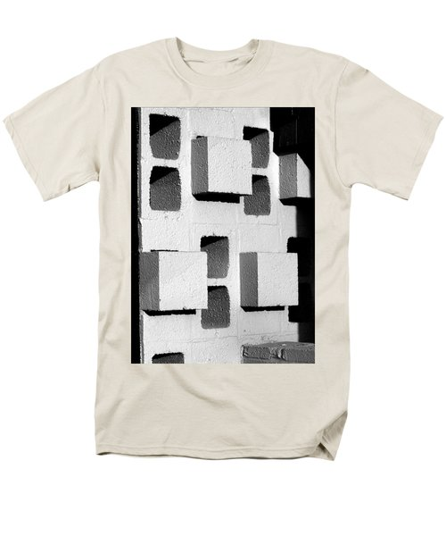 Blocks Men's T-Shirt  (Regular Fit)
