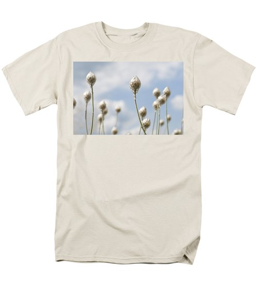 Men's T-Shirt  (Regular Fit) featuring the photograph Blue Cupidone by Lana Enderle
