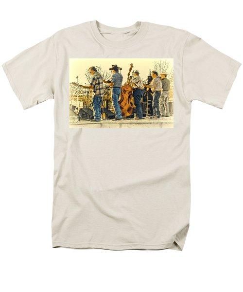 Bluegrass Evening Men's T-Shirt  (Regular Fit) by Robert Frederick