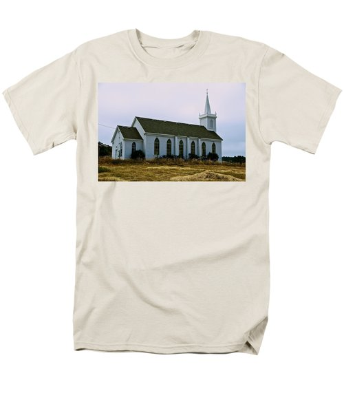 Bodega Church Men's T-Shirt  (Regular Fit) by Eric Tressler