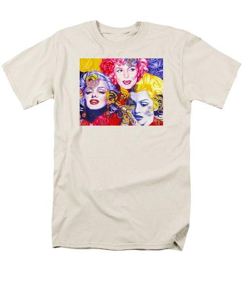 Bouquet Of Marilyn Men's T-Shirt  (Regular Fit) by Rebecca Glaze
