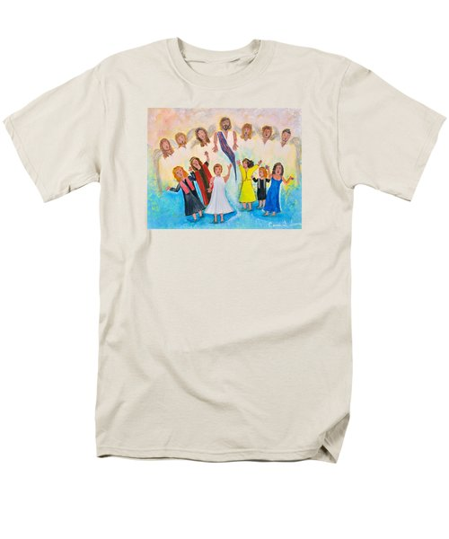 Men's T-Shirt  (Regular Fit) featuring the painting Bridal Invitation by Cassie Sears