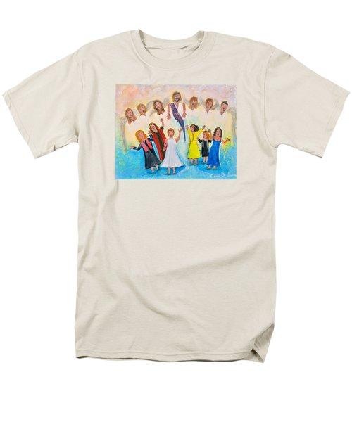 Bridal Invitation Men's T-Shirt  (Regular Fit) by Cassie Sears