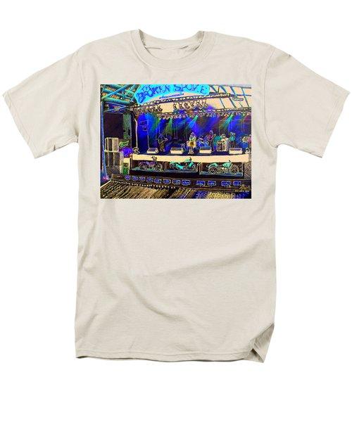 Broadband At The Broken Spoke Saloon Men's T-Shirt  (Regular Fit) by Albert Puskaric