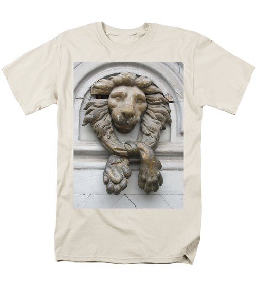 Men's T-Shirt  (Regular Fit) featuring the photograph Bronze Lion by Pema Hou