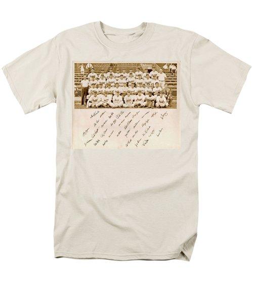 Brooklyn Dodgers Baseball Team Men's T-Shirt  (Regular Fit)