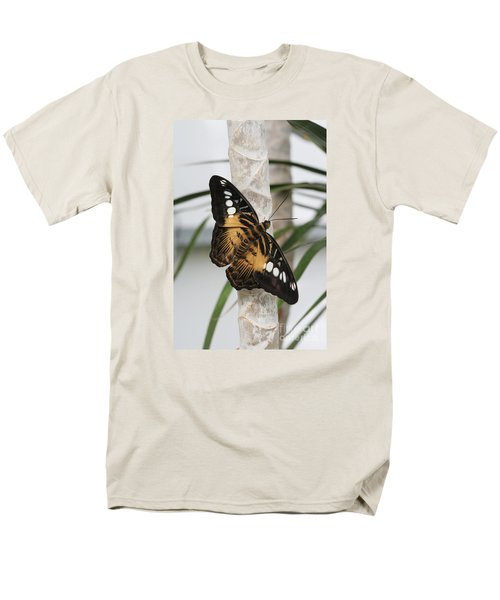 Brown Clipper Butterfly #2 Men's T-Shirt  (Regular Fit) by Judy Whitton