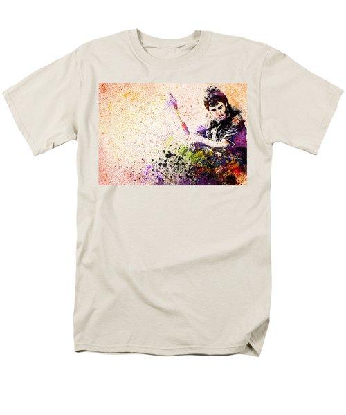 Bruce Springsteen Splats 2 Men's T-Shirt  (Regular Fit) by Bekim Art