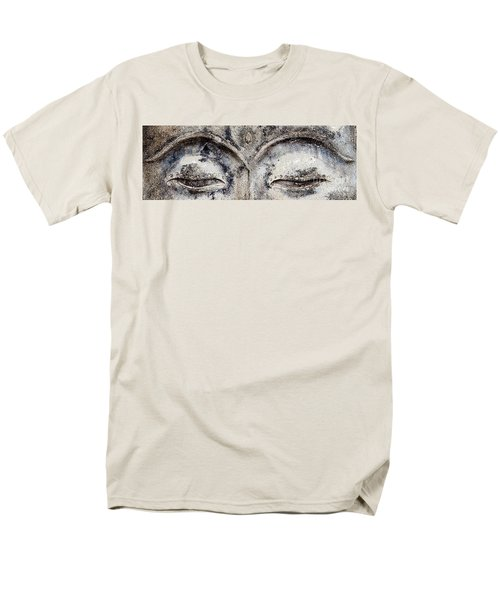 Men's T-Shirt  (Regular Fit) featuring the photograph Buddha Eyes by Roselynne Broussard