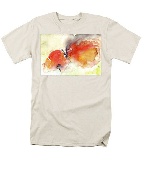 Men's T-Shirt  (Regular Fit) featuring the painting Butterfly by Faruk Koksal
