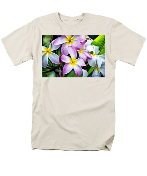 Men's T-Shirt  (Regular Fit) featuring the photograph Butterfly Flowers by Thomas Woolworth